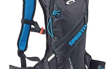 Batoh sportovní Spokey SPRINTER cyklistický a běžecký 5l, voděodolný černý + Taška přes rameno Coleman ZOOM - (1L, černá), 12 x 15 x 8,5 cm, 160 g, vhodná na doklady, mobil, klíče v hodnotě 259 Kč