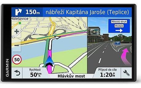 Navigační systém GPS Garmin DriveSmart 61T-D Lifetime Europe45 (010-01681-13) černá + DOPRAVA ZDARMA