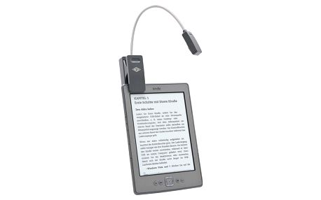 WEDO lampička na eBook, šedá - 2541571