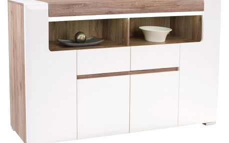 Komoda highboard toronto, 190/106,9/42,2 cm