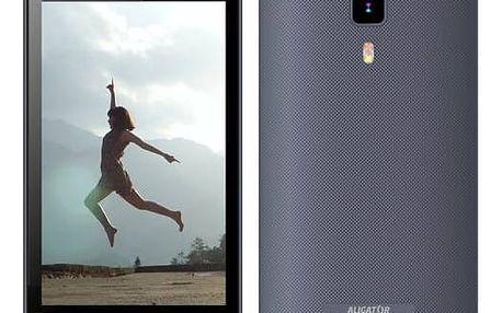 Mobilní telefon Aligator S4080 Dual SIM (AS4080GY) šedý Software F-Secure SAFE 6 měsíců pro 3 zařízení (zdarma)