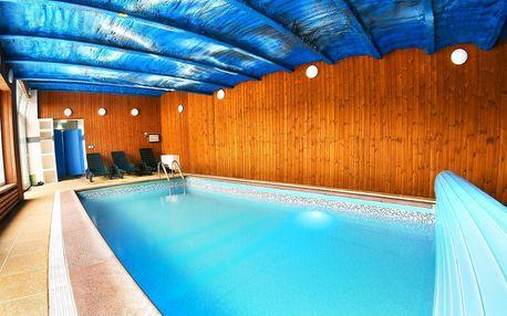 Pobyt u Vranova s polopenzí a slaným bazénem