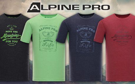 Pánská bavlněná trika Alpine Pro