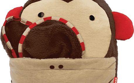 SKIP HOP Zoo Cestovní deka - Opička