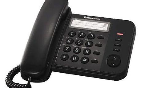 Panasonic KX-TS520FXB, černá