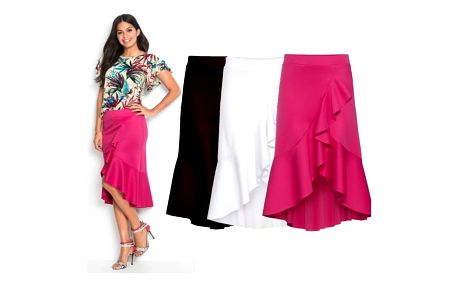 Dámská sukně s volánky Chrystal