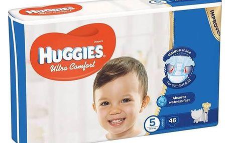Plenky Huggies Ultra Comfort Jumbo vel. 5, 12-22kg, 46ks