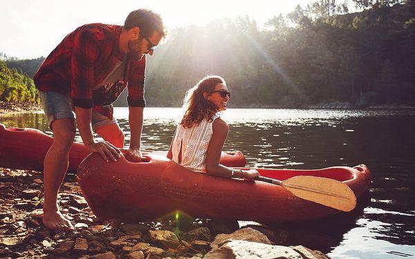 Víkend u Sázavy: půjčení loďky i kol