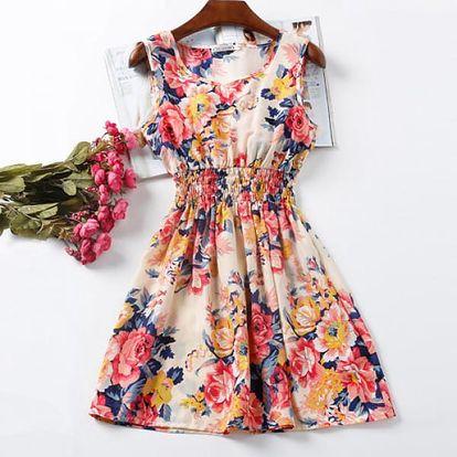Rozmanité letní šaty - Vzor: 1 - Velikost: 2 - dodání do 2 dnů