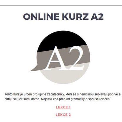Němčina A2 - elearning pro začátečníky a mírně pokročilé