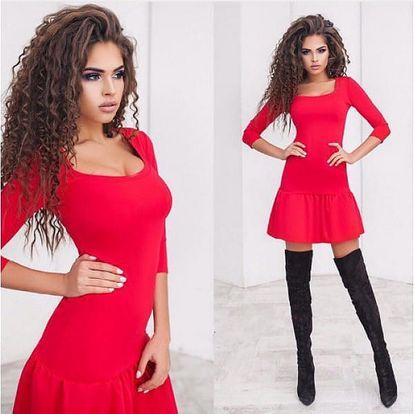 Dámské šaty s rukávem Lina