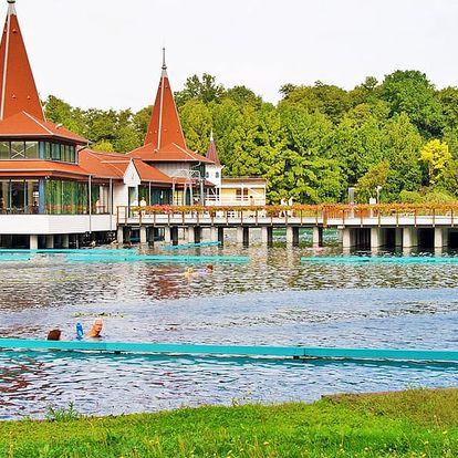 Relax u jezera Hévíz s bohatou polopenzí a neomezeným wellness + 50 % sleva na masáže