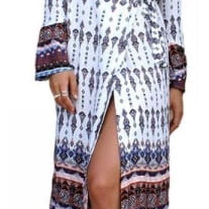 Dlouhé letní šaty ve vintage stylu - styl 2, vel.č. 2