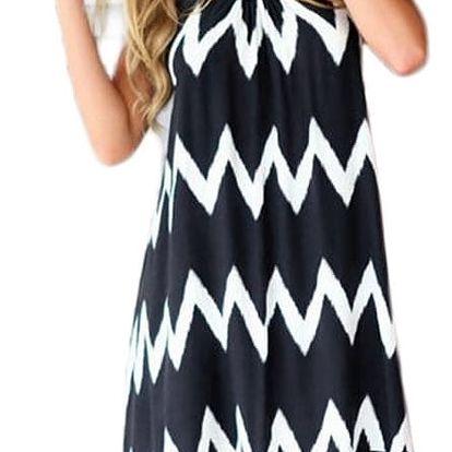 Lehké letní šaty s třásněmi - velikost č. 5