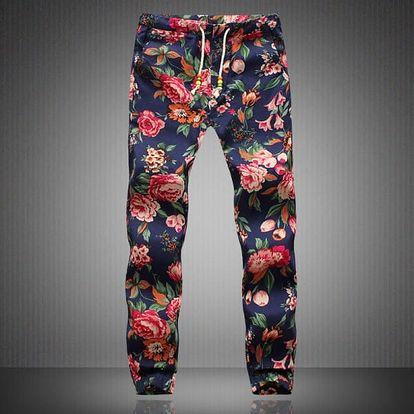 Plátěné kalhoty pro volný čas - varianta d, vel. 7