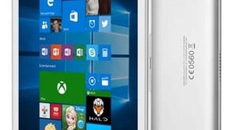 Dotykový tablet ALCATEL PLUS 10 LTE + klávesnice (8085-2CALCZ1-1P) stříbrný