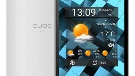 myPhone CUBE LTE Dual SIM, bílá