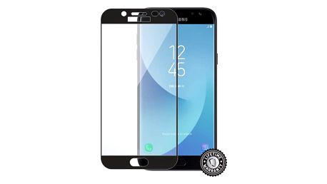 ScreenShield ochrana displeje Tempered Glass pro Samsung J530 Galaxy J5 (2017), černá - SAM-TGFCBJ530-D