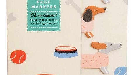Busy B Lepítka Doggy Cute, multi barva, papír