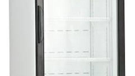 Chladící vitrína Guzzanti GZ 338 černá + Doprava zdarma