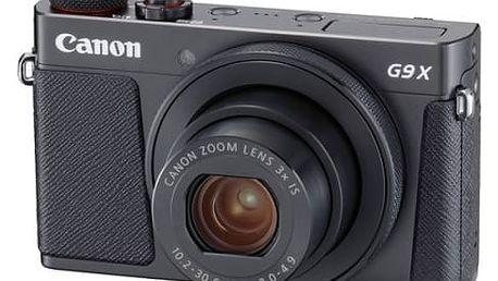 Digitální fotoaparát Canon PowerShot G9 X Mark II Black (1717C002) černý