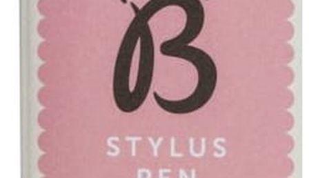 Busy B Psací a dotykové pero Pink spot, růžová barva