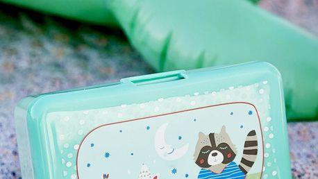 rice Krabička na svačinu Happy Boys, zelená barva