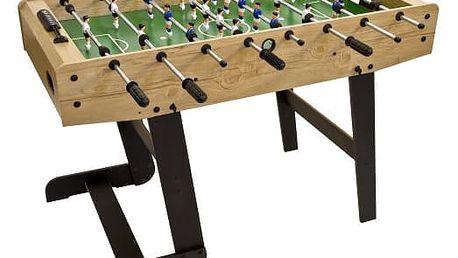 MAX 2634 Stolní fotbal BELFAST 121 x 101 x 79 cm - světlé dřevo
