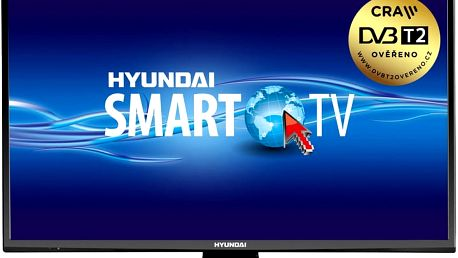 Hyundai FLN 22TS211 SMART - 56cm - HYUFLN22TS211SMART + Flashdisk A-data 16GB v ceně 200 kč