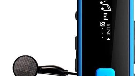 Transcend MP350 8 GB, modrá