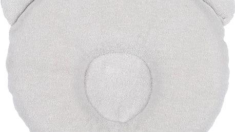 CANDIDE Panda polštářek 21 x 19cm, šedý