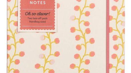 Busy B Notes To Do Floral Busy B, růžová barva, papír