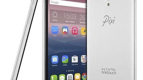 Mobilní telefon ALCATEL PIXI 4 (6) 8050D HD (8050D-2BALE14) stříbrný Software F-Secure SAFE 6 měsíců pro 3 zařízení (zdarma)