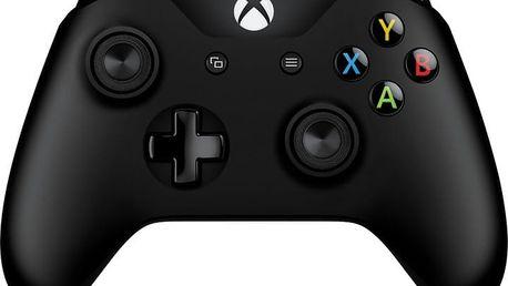 Microsoft Xbox ONE Gamepad, bezdrátový, černý (XONE S) - 6CL-00002