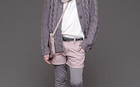 Creamie Dětský svetřík Sussi Velikost 104, šedá barva, textil