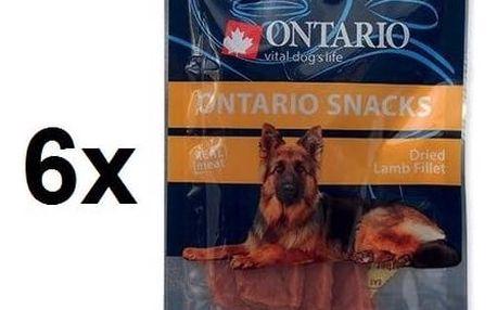 Pochoutka Ontario Snack Dry Lamb fillet 6 x 70g