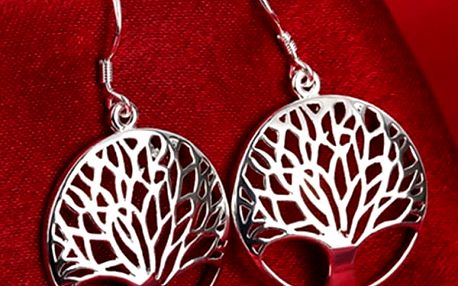 Dámské náušnice - strom života
