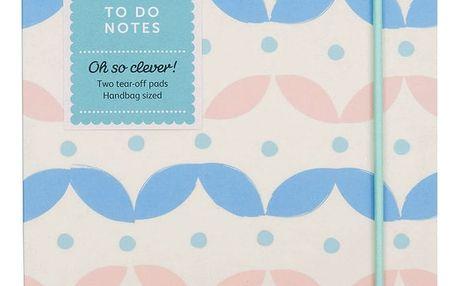 Busy B Notes To Do Busy B, růžová barva, modrá barva, papír