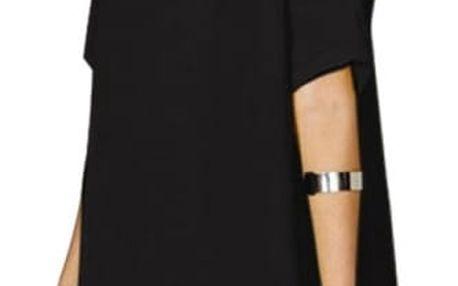 Dámské šaty s odhalenými rameny - černá, velikost 2