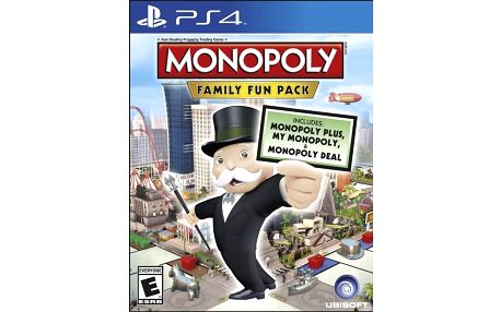 Monopoly: Family Fun Pack (PS4) - 3307215802120