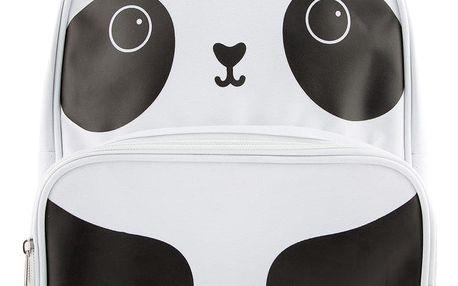 sass & belle Dětský batoh Panda, černá barva, bílá barva, textil