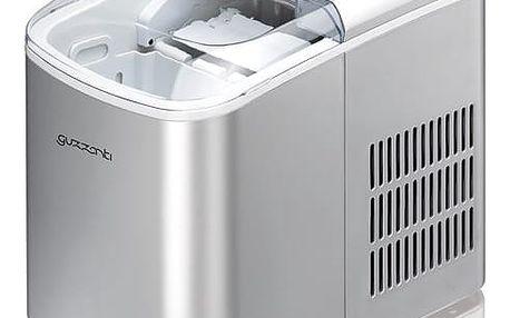 Výrobník ledu Guzzanti GZ 120 stříbrný + DOPRAVA ZDARMA