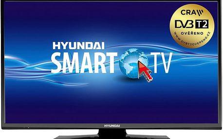 Hyundai FLN 22TS211 SMART - 56cm - HYUFLN22TS211SMART + Flashdisk A-data 16GB v ceně 200 kč