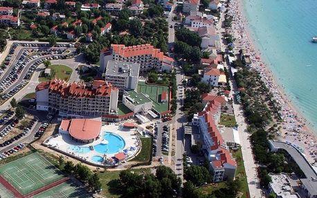 Chorvatsko - Krk na 10 dní, polopenze s dopravou autobusem