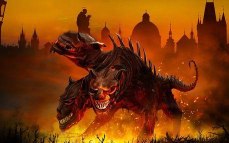 Venkovní únikovka Smlouva s peklem až pro 6 os.