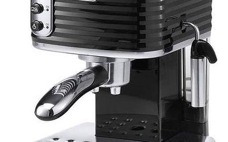 Espresso DeLonghi Scultura ECZ351BK černé/nerez + Doprava zdarma