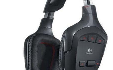 Logitech Wireless Gaming Headset G930, 7.1 zvuk, 3x G-key