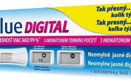 CLEARBLUE těhotenský test DIGITAL S INDIKÁTOREM