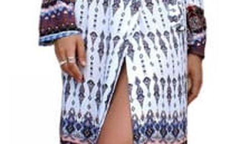 Dlouhé letní šaty ve vintage stylu - styl 2, vel.č. 2 - dodání do 2 dnů