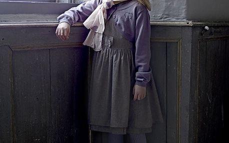 Creamie Dívčí bolerko Kate Vintage Heather Velikost 116, fialová barva, textil